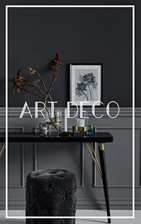 Collection de meubles style Art Deco